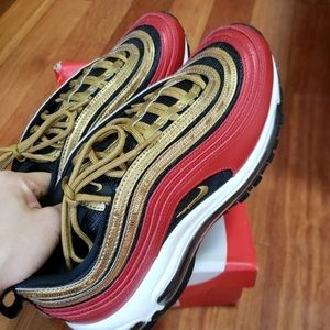 air max 97 university red/ metallic gold